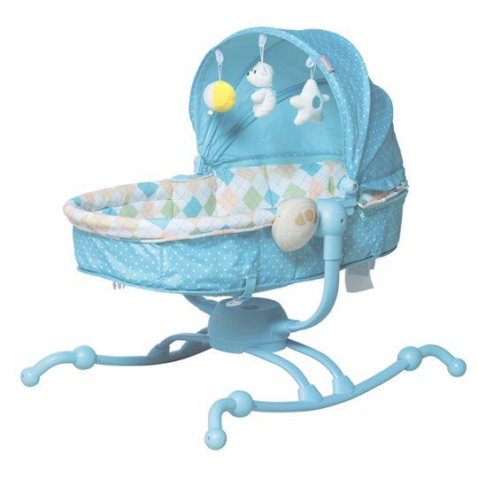 Ghế rung Zaracos Comfort 1106 màu xanh