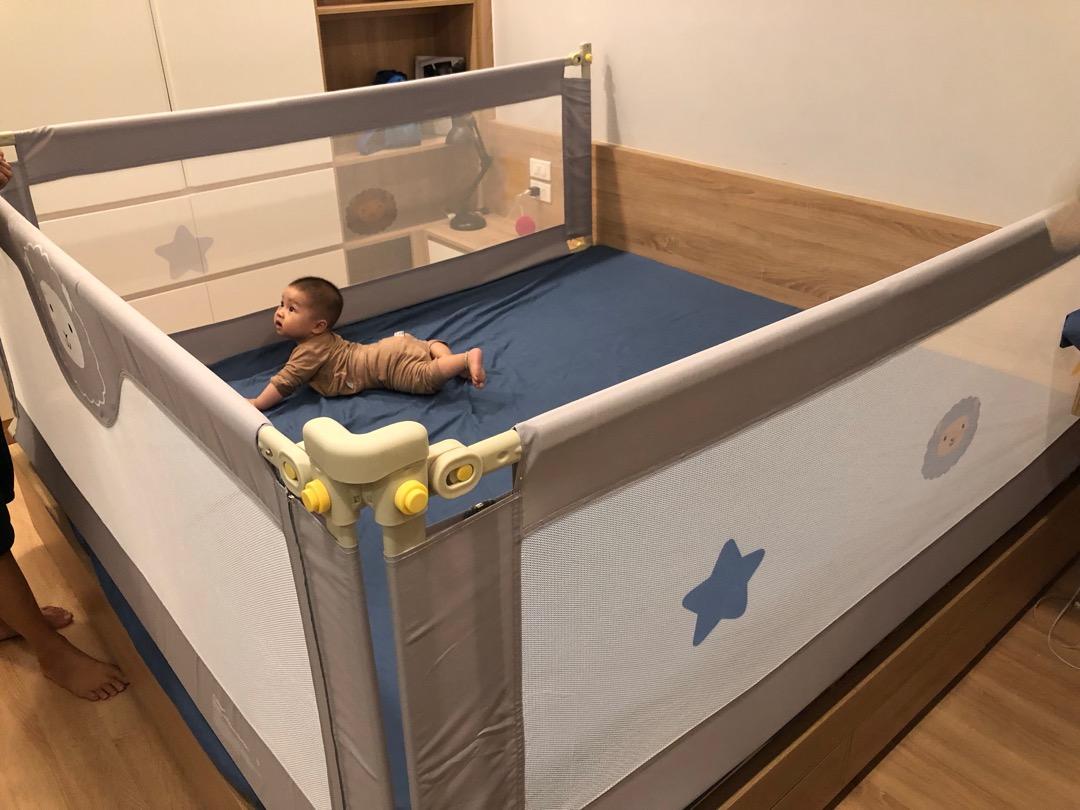 Bộ 3 thanh chắn giường 1m8 x 2m