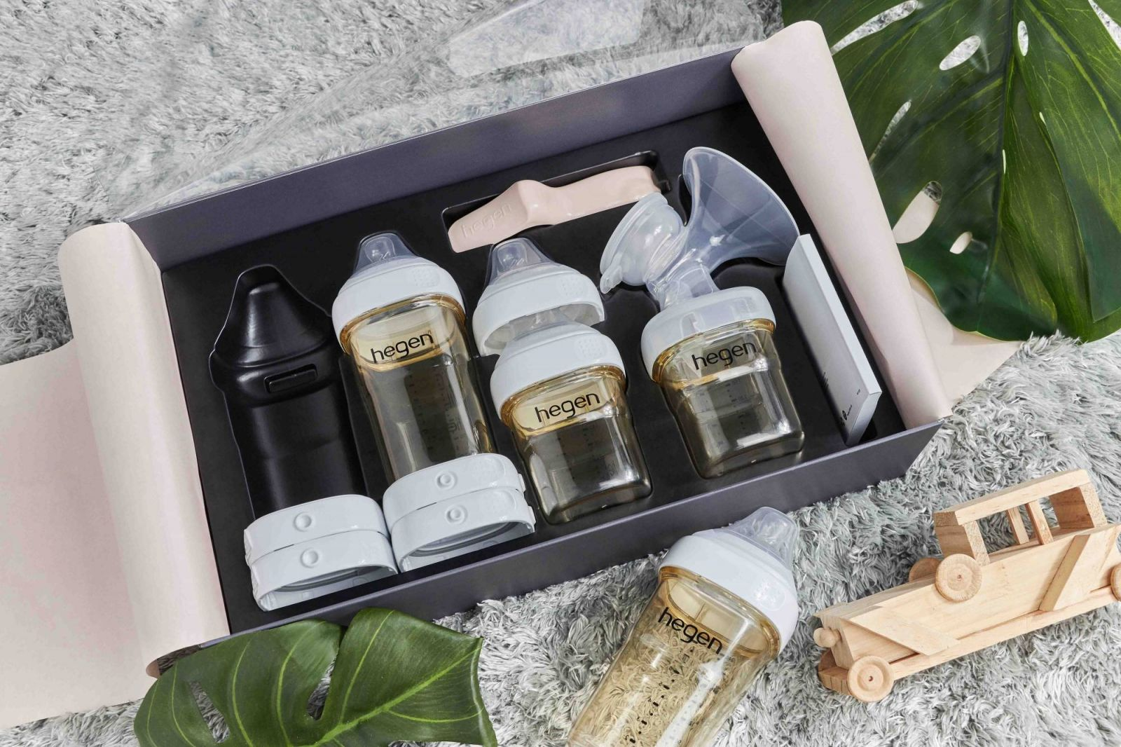 Bộ quà tặng máy hút sữa bằng tay Hegen Express Store Feed Stater Kit