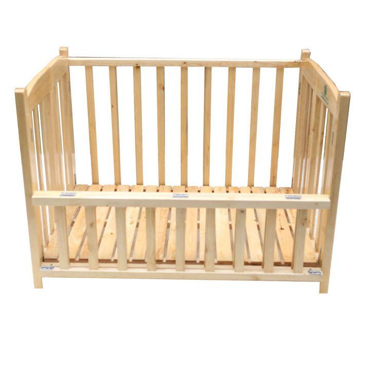 Cũi giường gỗ Quế Mộc GoldCat 70x110