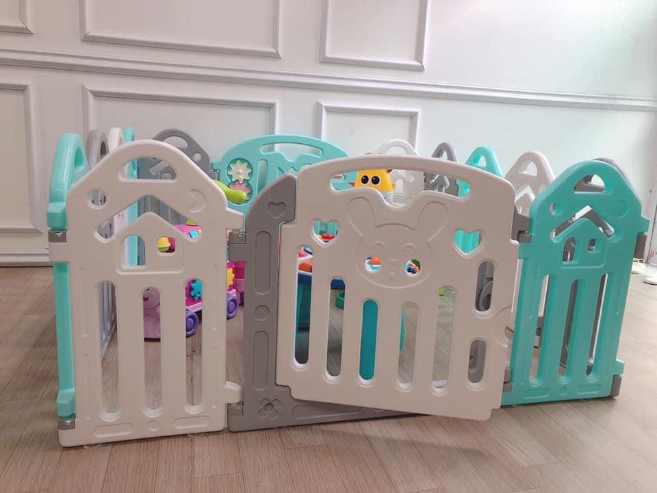 Cũi nhựa cho bé Toys House TH319-142B