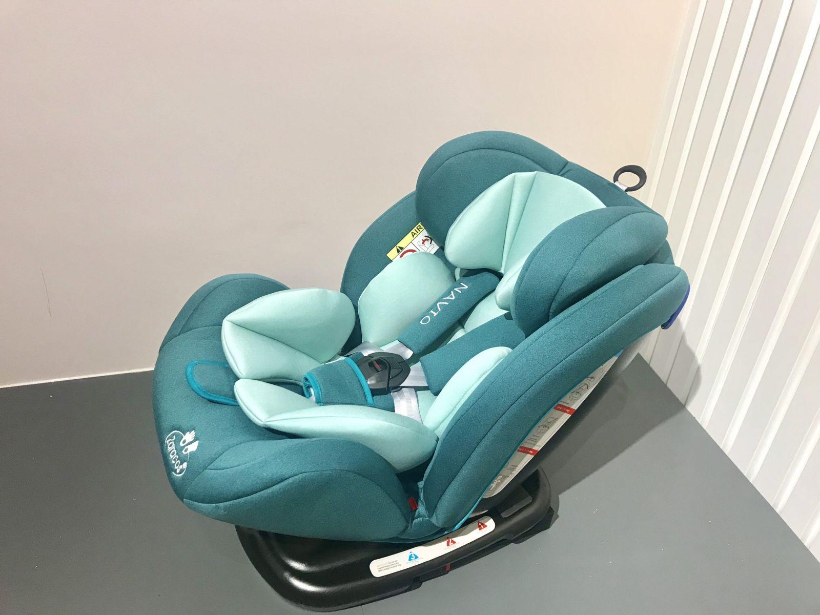 Ghế ngồi ô tô cho bé Navio isofix 5196 Xanh ngọc