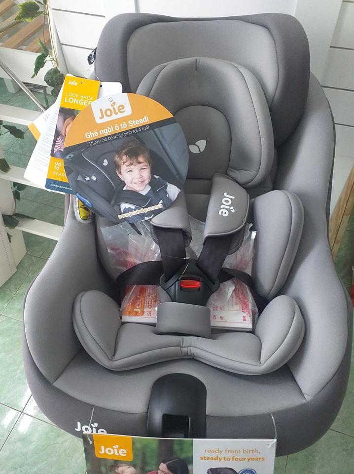 Ghế ngồi ô tô trẻ em Joie Steadi Dark Pewter