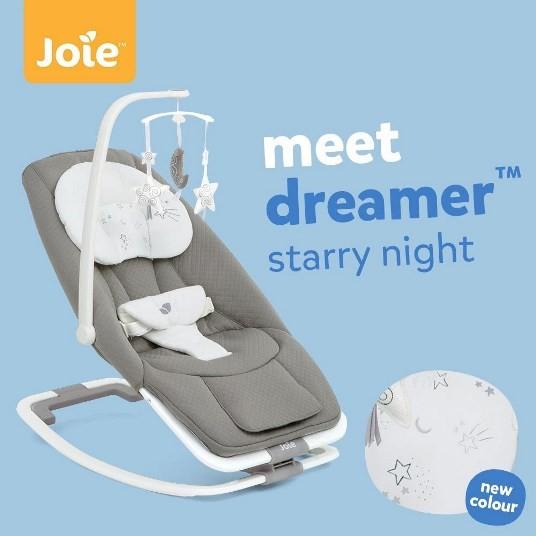 Ghế rung cho be Joie Dreamer Starry Night