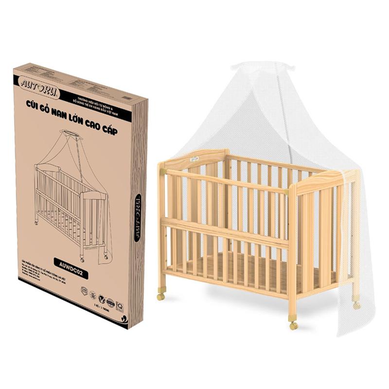 Giường cũi cho bé cao cấp Autoru - auwdc02