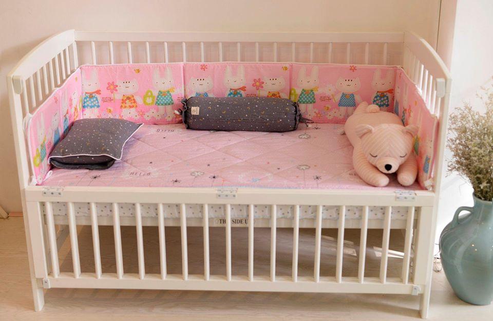 Giường cũi cho bé Washington BC020