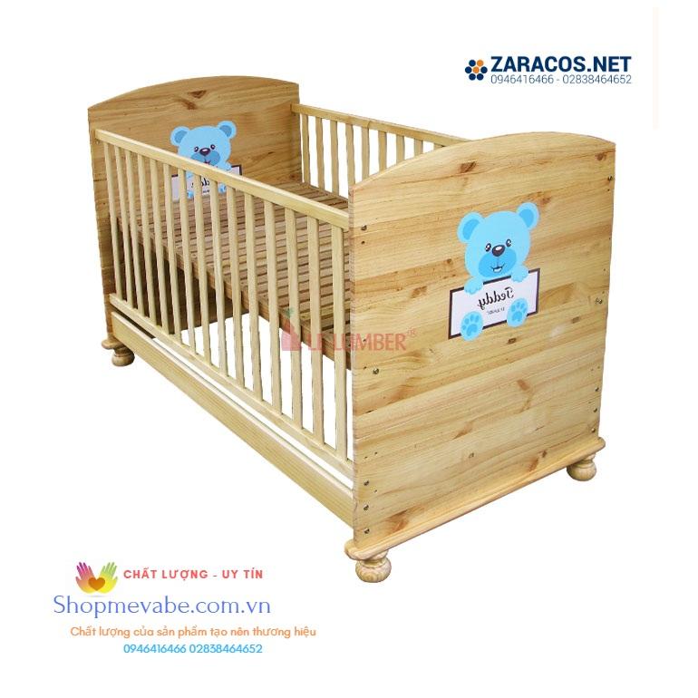 Giường cũi Teddy 0-3 tuổi