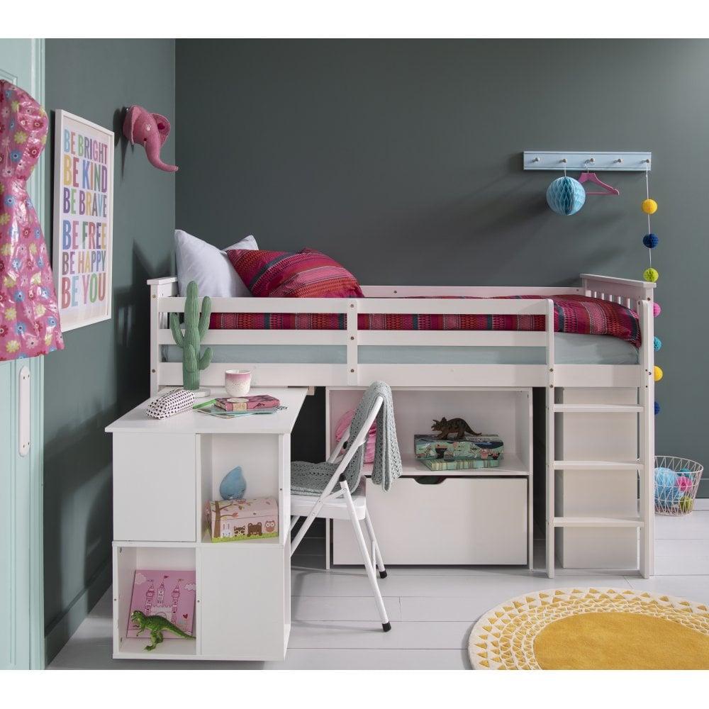 Giường ngủ Oliver Cabin màu trắng