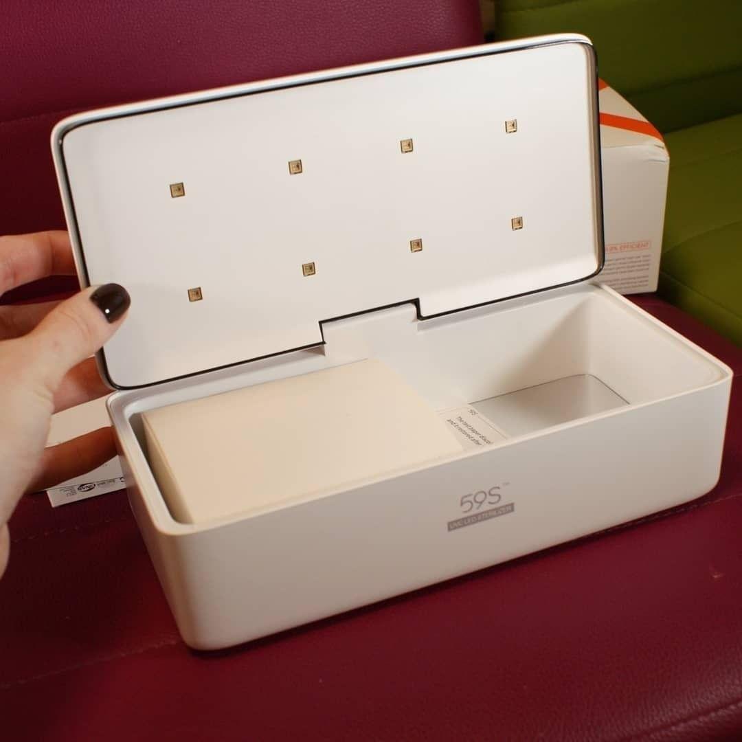 Hộp khử trùng dụng cụ Spa 59S UVC LED Sterilizing Storage Box