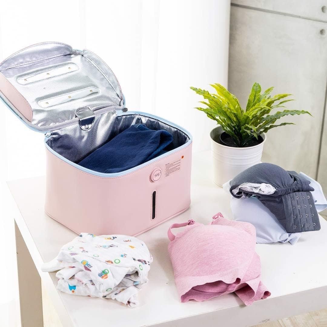 Hộp khử trùng quần áo bình sữa đố chơi trẻ em bằng tia UV 59S