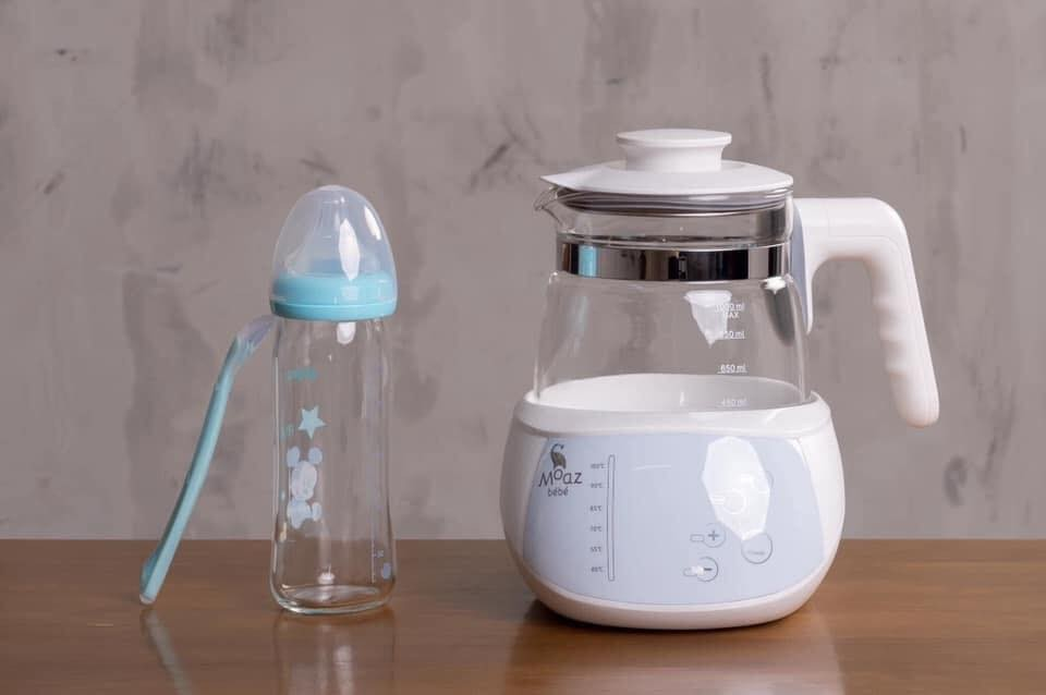 Máy đun nước pha sữa Moaz Bebe thông minh MB - 002