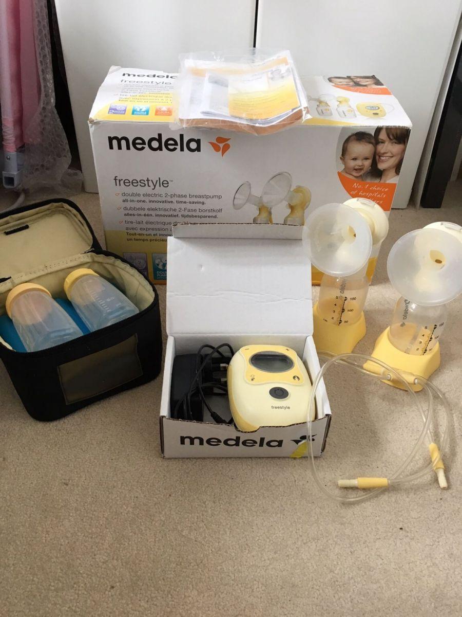 Máy hút sữa điện đôi Medela Free Style