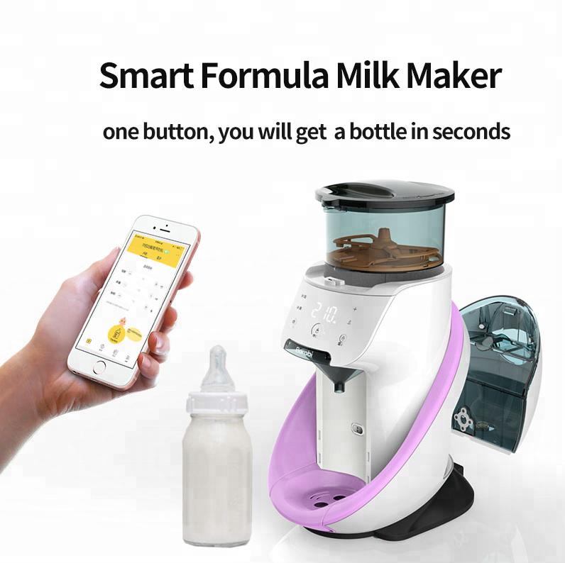 Máy pha sữa công thức Burabi
