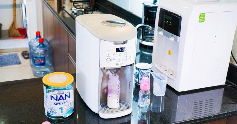 Máy pha sữa tự động là gì