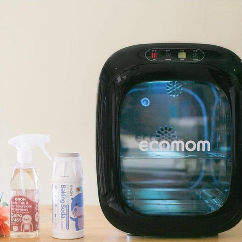 Máy tiệt trùng sấy khô khử mùi bằng tia UV Ecomom ECO-100 Pro  Màu đen