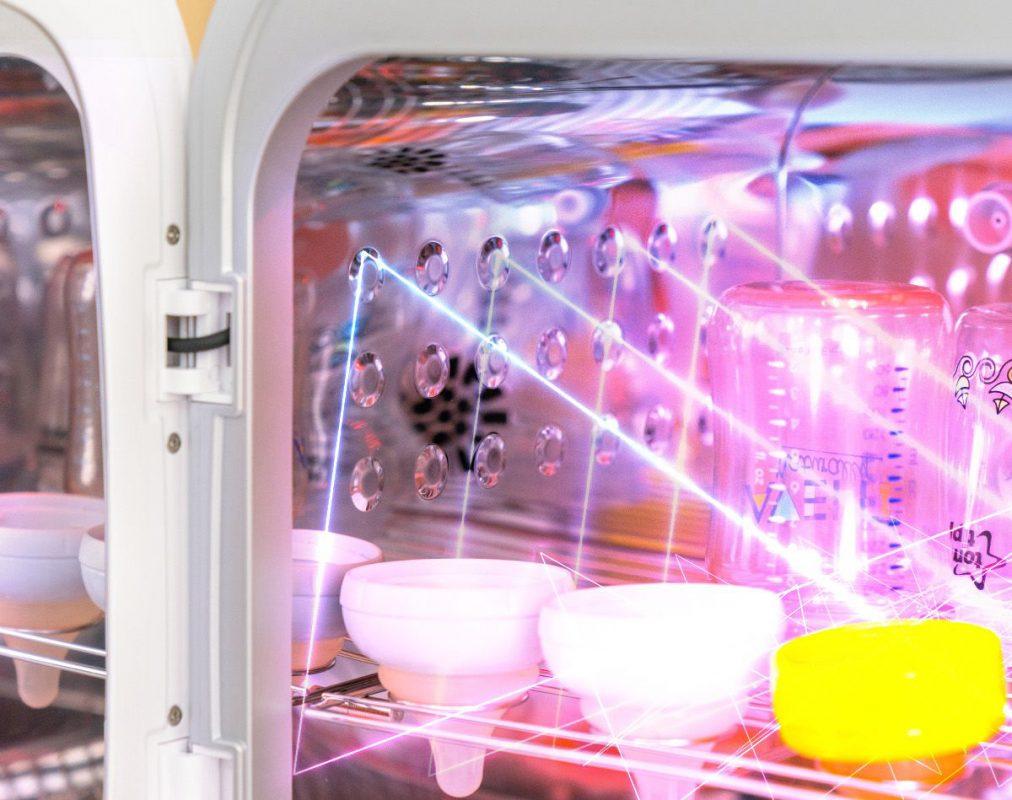 Máy tiệt trùng sấy khô khử mùi tia UV Ecomom 202 Pro