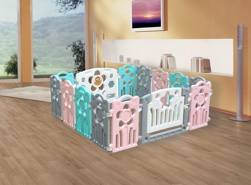 Quây cũi nhựa trẻ em Toys House TH319-122G