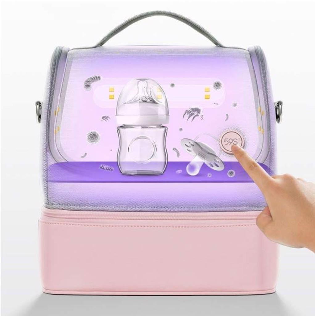 Túi khử trùng  UV đa năng 59S - P14 Hồng