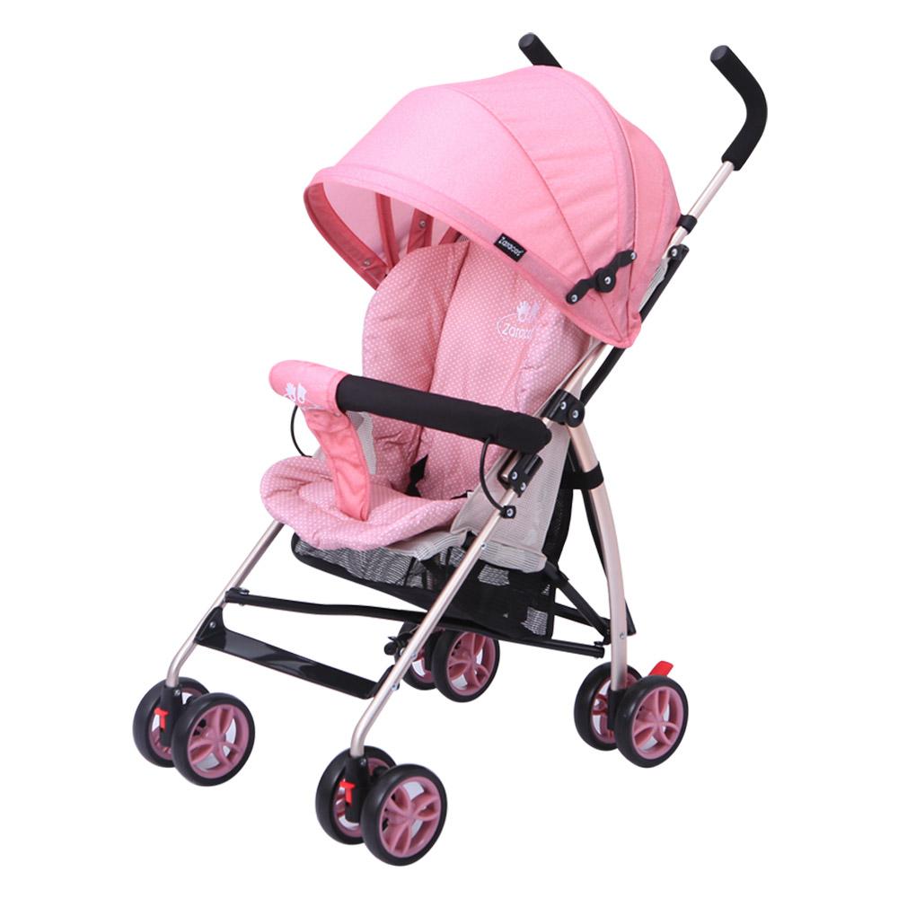 Xe đẩy du lịch gấp gọn  Zaracos Cruz 3206 - Pink