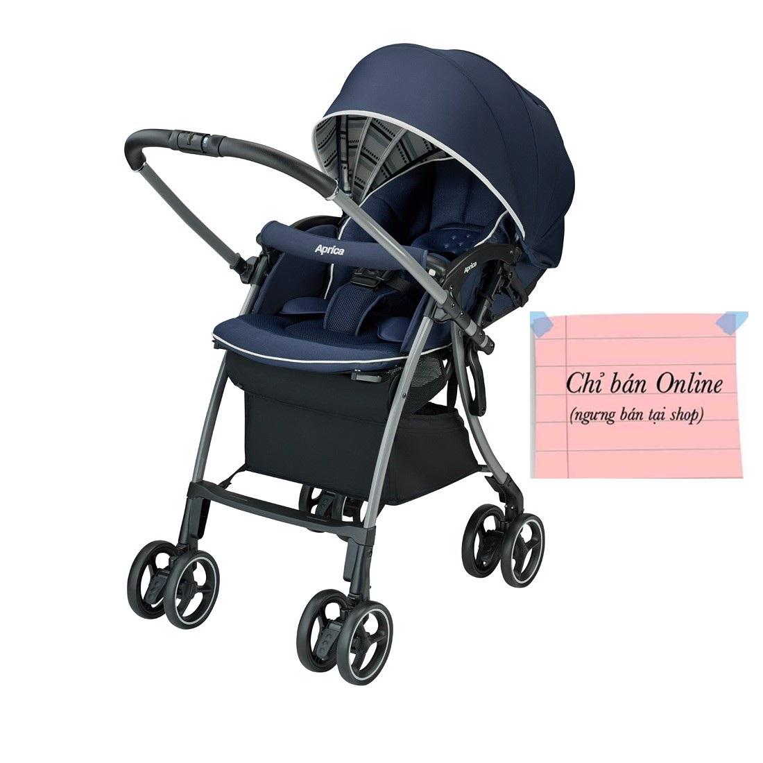 Xe đẩy trẻ em Aprica Luxuna Cushion (AB Navy)