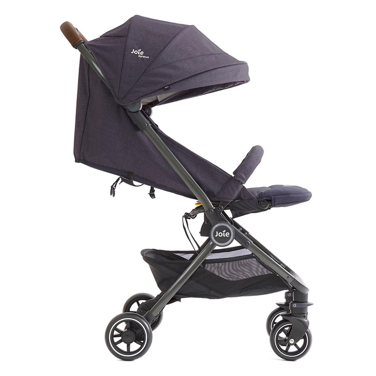 Xe đẩy trẻ em Joie Litetrax 4 Flex W/ RC SIG. Granit Bleu