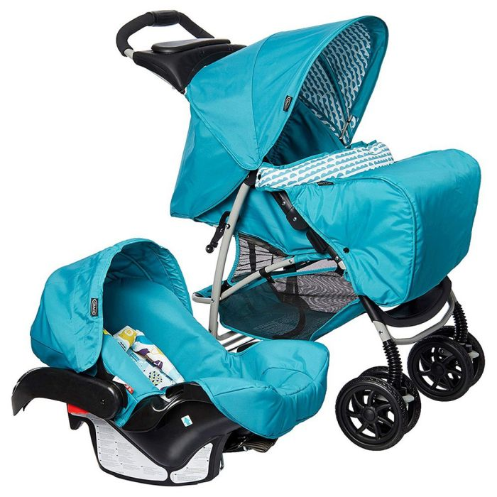 Xe đẩy trẻ em Travel System Graco Mirage+ Into The Wood