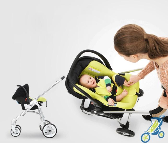 Chọn xe đẩy cho bé 3 tháng tuổi như thế nào 2