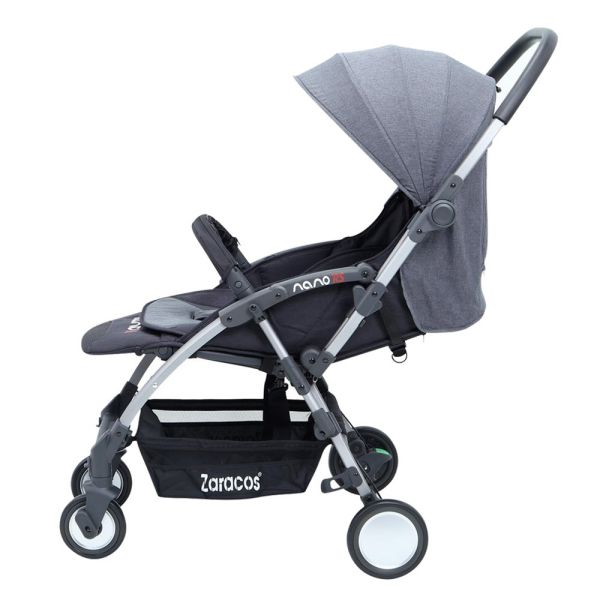Xe đẩy du lịch cho bé Zaracos Nano RS - Grey