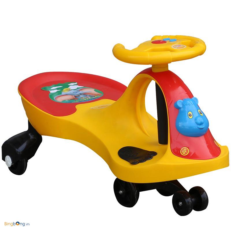 Bé 1 tuổi có thể sử dụng xe lắc được chưa?