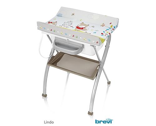 Bộ kệ tắm cho bé brevi Lindo  bre567-556