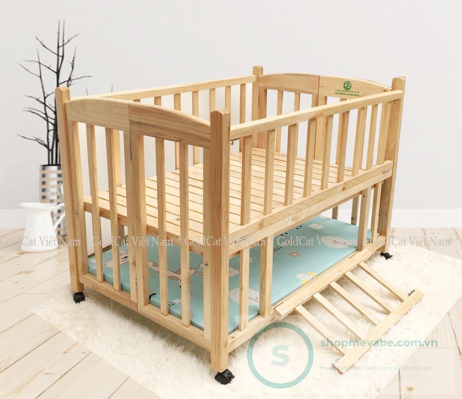 Cũi giường 2 giát GoldCat C12D