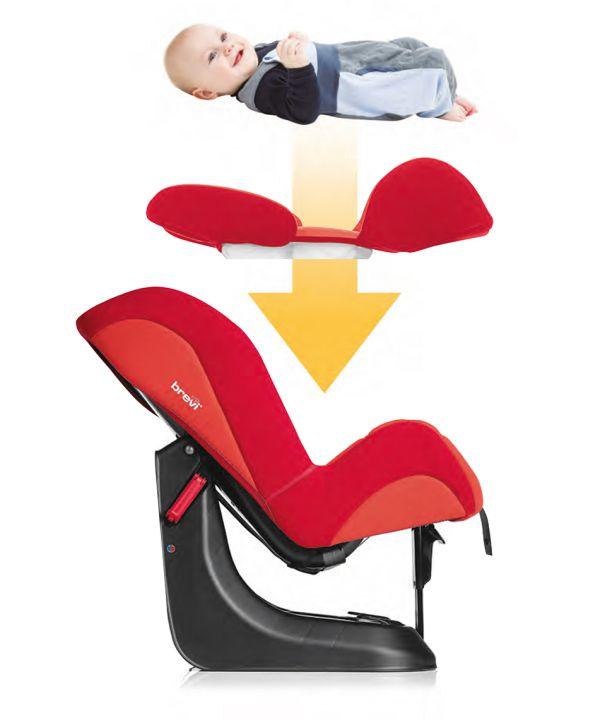 Ghế ngồi Ô Tô cho bé Brevi Gp Sport BRE517