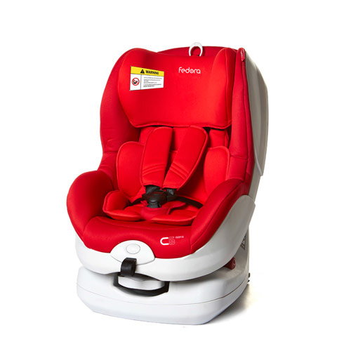 Ghế ngồi ô tô cho bé Fedora FED-C6 Màu đỏ