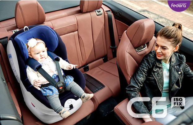 Ghế ngồi xe hơi Fedora FED-C6.BLUE Màu xanh