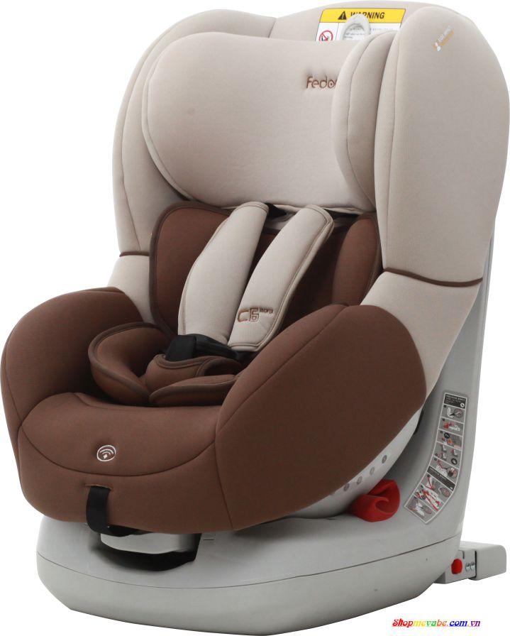 Ghế ô tô Fedora C6 ISO-FIX dành cho trẻ từ 0 đến 4 tuổi