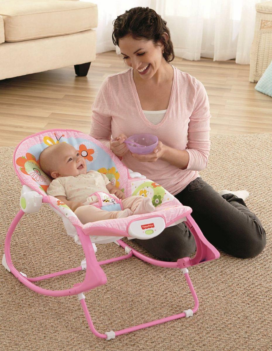 Ghế rung giúp tiết kiệm thời gian cho cha mẹ.