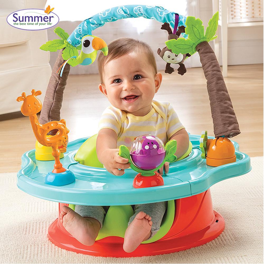 Ghế tập ngồi 3 giai đoạn Summer Infant màu đỏ SM13500