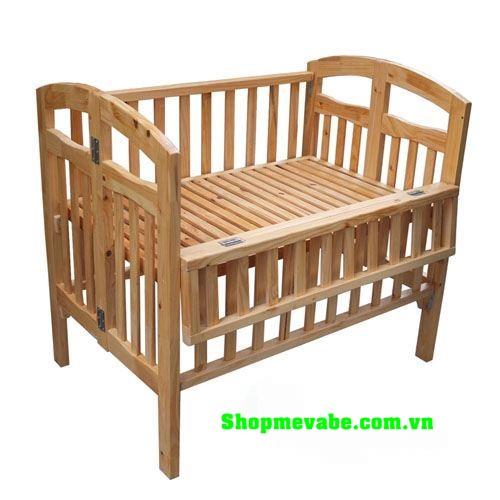 Giường cũi xuất khẩu gỗ thông