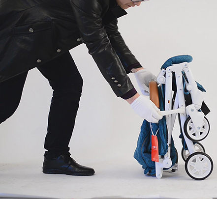 Hướng dẫn gấp mở xe đẩy em bé