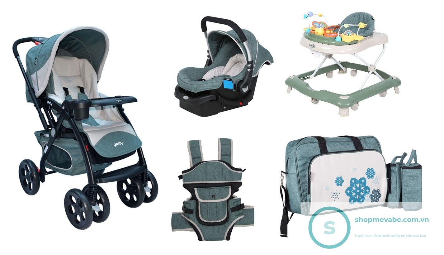 Những thương hiệu xe đẩy em bé bán chạy hàng đầu năm 2019
