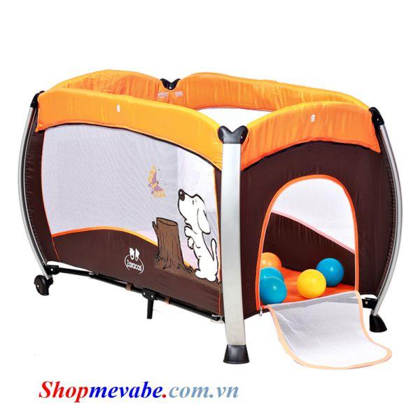 Cũi vải trẻ em Zaracos Jelly 6046 Orange