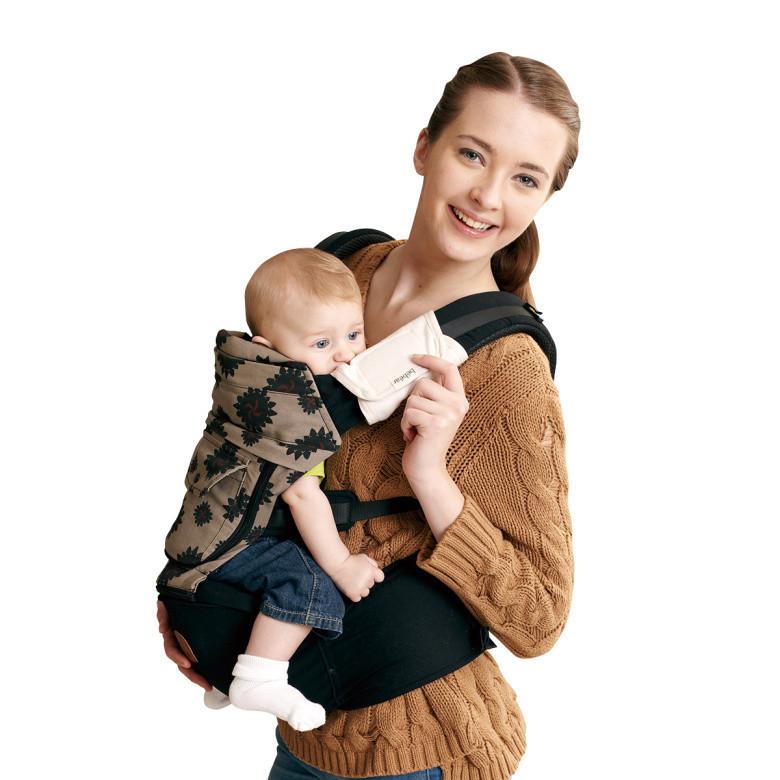 Tư thế địu bé an toàn giúp trẻ thoải mái, dễ chịu nhất.