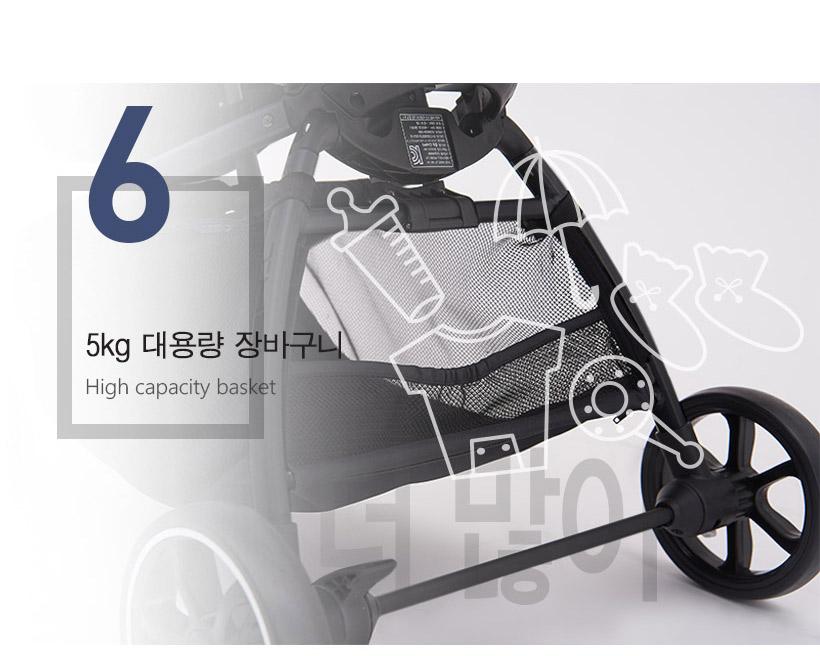 Xe đẩy cao cấp  bé fedora S5 Màu xám