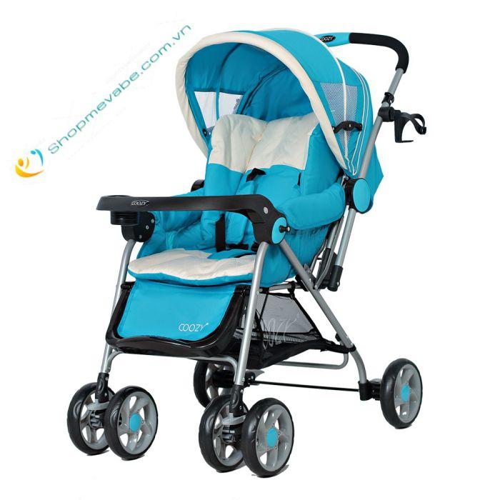 Xe đẩy COOZY Amory 206 2 chiều Màu xanh