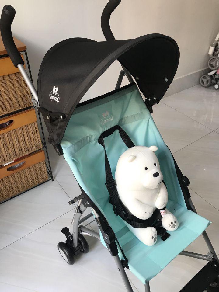 Xe đẩy du lịch cho bé siêu nhẹ Zaracos Bravo 3306
