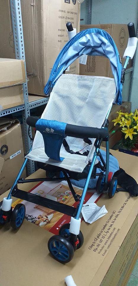 Xe đẩy du lịch siêu nhẹ Zaracos Cruz 3206 - Blue