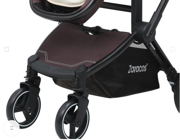 Xe đẩy em bé cao cấp Zaracos Zippy 8186 – Dark Drown