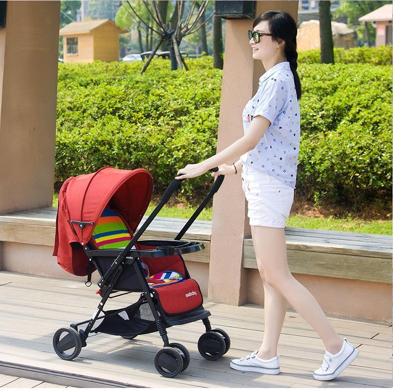 Xe đẩy em bé  Seebaby (HongKong)