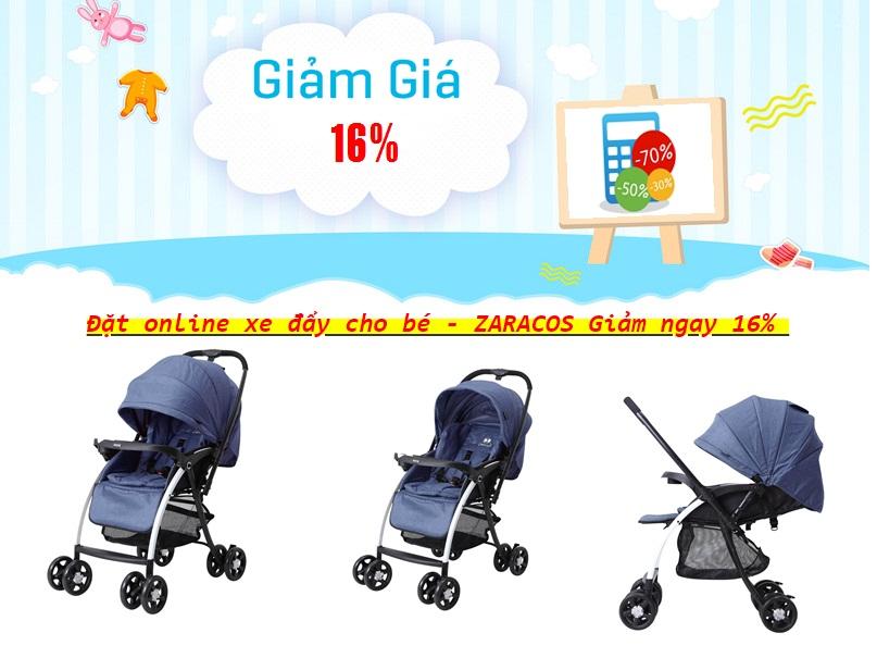 Xe đẩy Zaracos ORAL 2706 đặt online giảm giá lên đến 16% chỉ có tại shopmevabe.com.vn